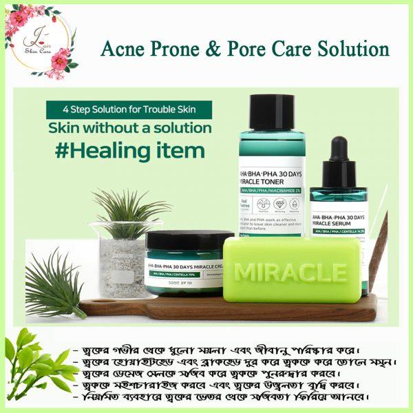 Acne Prone & Pore Care Solutions