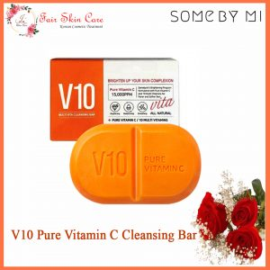 V10 Pure Vitamin C Cleansing Bar