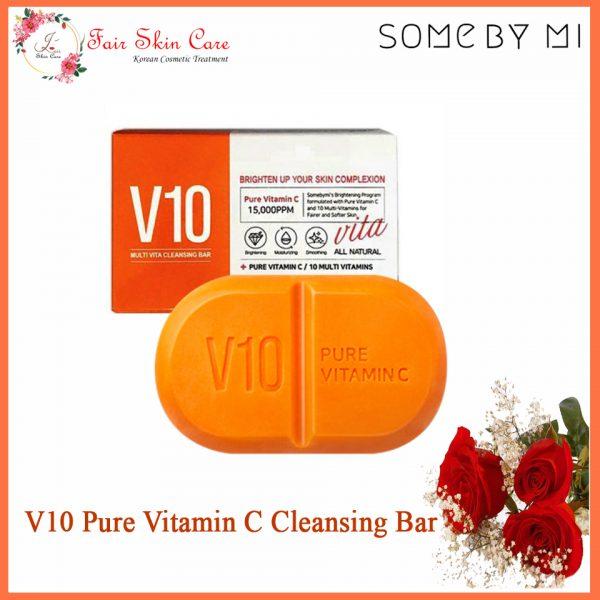 V10 Pure Vitamin C Cleansing Bar