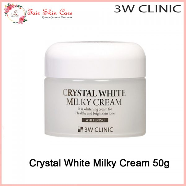 Crystal White Milky Cream 50g