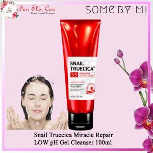 Snail Truecica Miracle Repair Low Ph Gel Cleanser 100ml