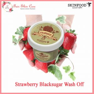 Strawberry Blacksugar Wash Off