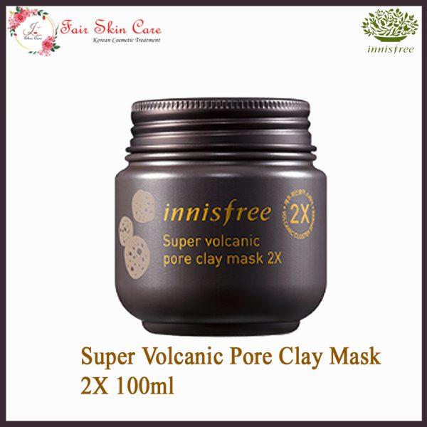 Super Volcanic Pore Clay Mask 2X 100ml