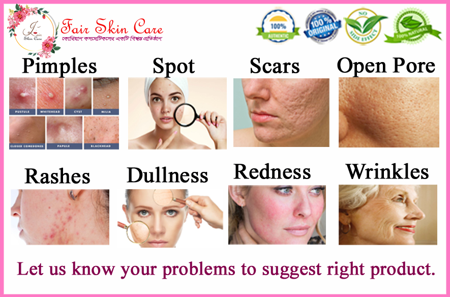 All Skin problems